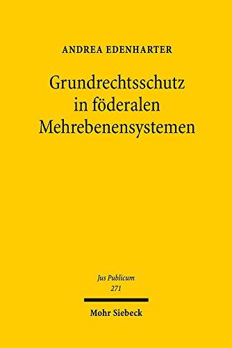Grundrechtsschutz in föderalen Mehrebenensystemen: Inspiration des EU-Grundrechtsschutzes durch die Grundrechtsentwicklung in Deutschland und der Schweiz sowie durch die EMRK (Jus Publicum)