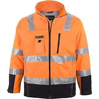 ASATEX Prevent Trendline Softshelljacke PTW-S, orange/schwarz, Gr. 3XL