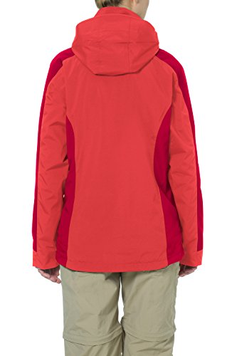 VAUDE Damen Doppeljacke Kintail 3 in 1 Jacket flame