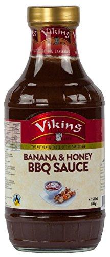 Karibische Bananen und Honig Grillsosse-BBQ Sauce (500 ml)