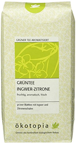 Ökotopia Grüntee Ingwer-Zitrone, 1er Pack (1 x 250 g)