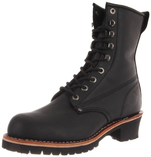 Dickies Men's Chaser Boot,Black,10 M US (Boot Safety Eyelet)