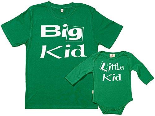 Spoilt Rotten SR - dans Une boîte Cadeau - Big Kid & Little Kid - dans Une boîte Cadeau, Vert, XXL & 6-12 Mois
