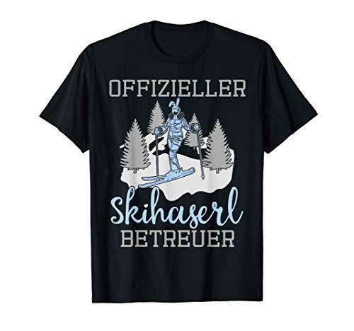 Skihaserl Betreuer Apres Ski Skifahren Snowboarden Skihasen T-Shirt