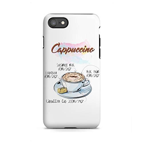 ne 7 Tough-Case Handyhülle Cappuccino Coffee von Arman Akopyan ()