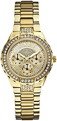 Guess Sport Watch for Women, Stainless Steel, Analog - W0111L2