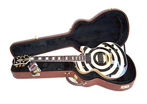 Extreme egcf2Case duro para guitarra eléctrica tipo Gibson bisagras de fijación asa para el transporte