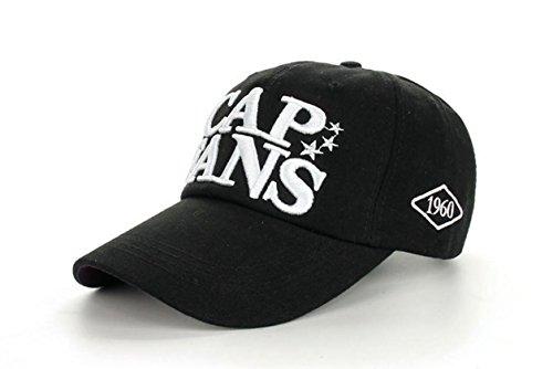 Funny hat Printemps Automne Unisexe Loisirs Simplicité Coton réglable Broderie Baseball/Casual Sport Outdoor Snapback Casquette avec Broderie Fans de
