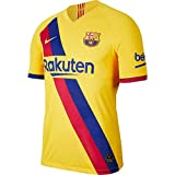 Nike Breathe FC Barcelona Stadium Away Camiseta, Unisex Adulto, Varsity Maize, S