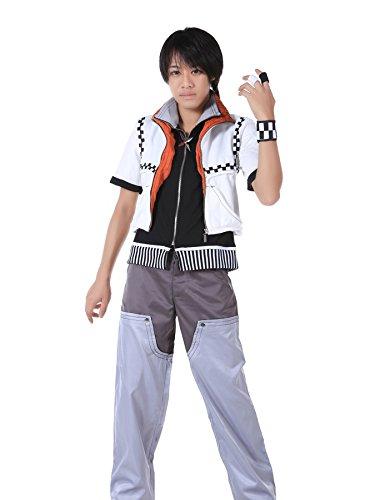 De-Cos Kingdom Hearts II Cosplay Costume Roxas Outfit 1st Version (Hearts Kostüm Roxas Kingdom)
