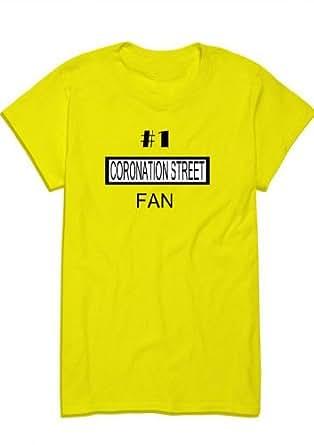 Number 1 Coronation Street Fan,Men's Funny T-Shirt