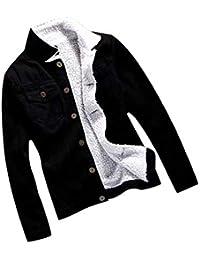 VECDY Ropa Mujer, Blusas Elegante 2019 Chaqueta De Mezclilla De Otoño E Invierno para Mujer Chaqueta De Jeans Sueltos De Manga Larga Retro Ropa De Abrigo Moda Suave Tops Casual Camiseta Ropa