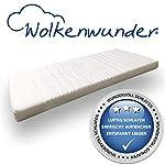 Wolkenwunder Wellflex-Schaum-Matratze Mittel