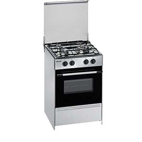 Meireles G1530DVXNAT Independiente Encimera de gas Acero inoxidable - Cocina (Cocina independiente,...