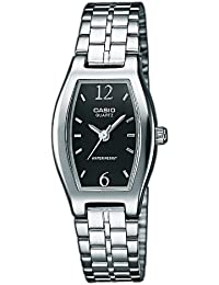 Casio Collection LTP-1281PD-1A, Reloj Análogo Clásico, Acero Inoxidable, Plateado