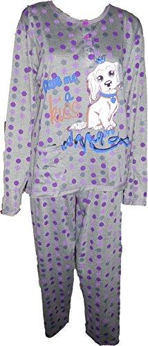 pyjama 727 Gris-Violet