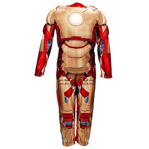 Disney store costume 7-8 anni iron man carnevale bambino armatura