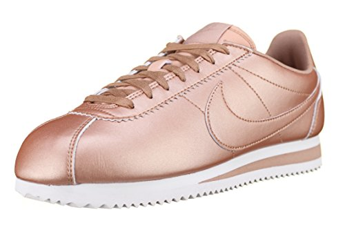 "Schuhe Nike Wmns Classic Cortez Leather ""Metalic Bronze"" (807471-900) Gold"