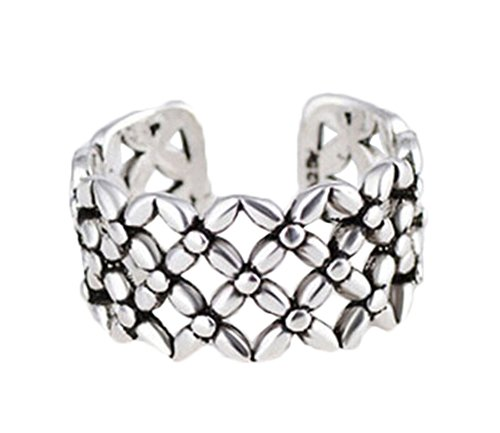 Hosaire Elegant Retro Knitting Knot Crystal Diamond Open Rings Wedding Jewelry For Women-It Can Be adjustable