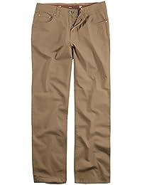 JP 1880 Herren große Größen bis 66 | Hose | Chino Hose aus Baumwolle | 5-Pocket-Schnitt | Elastik-Komfort | Stretchhose mit elastischen Bund | Regular Fit | beige 62 705253 35-62