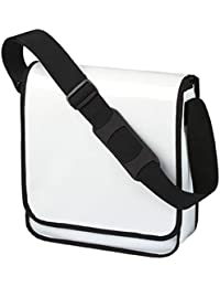 HALFAR - sac sacoche bandoulière porte documents 1803928 - blanc - mixte homme / femme