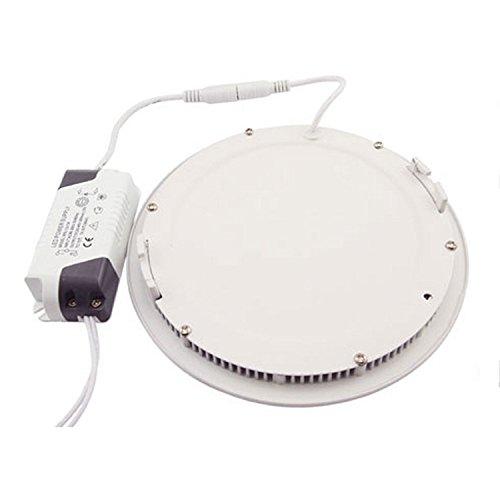 GRG-Faretto-LED-tipo-Pannello-slim-18W-6000-6500K-Bianco-luce-fredda-220V-corpo-in-alluminio-con-lamelle-di-raffreddamento-lunga-durata