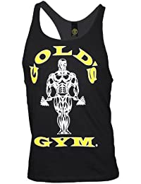 Golds Gym Classic Golds Gym Stringer Tank Top 100% Baumwolle (Black, M)