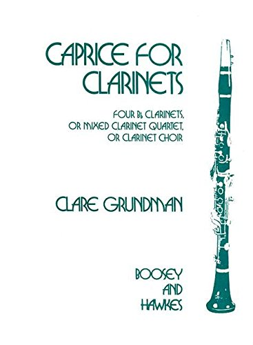 Caprice for Clarinets Saxophone