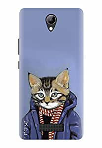 Noise Designer Printed Case / Cover for Lyf Wind 3 / Animated Cartoons / Animal Portraits In Clothes