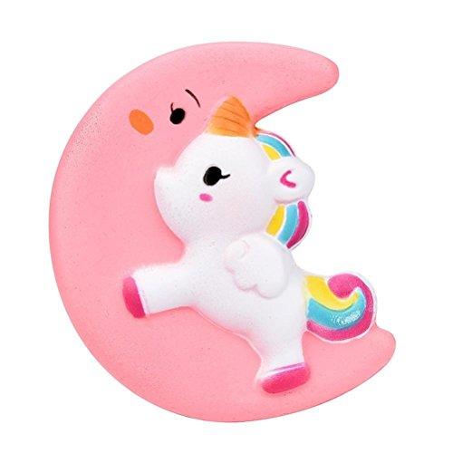 Creme duftenden langsam steigenden Kind Spielzeug, schönes Spielzeug, Stress Relief Spielzeug, Dekorationen Spielzeug Geschenk Spaß (Mond Einhorn) (Halloween-popcorn-geschenke)
