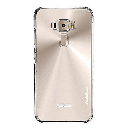Stuffcool Clair Transparent Hard Back Case Cover for Asus Zenfone 3 5.2' ZE520KL - Clear