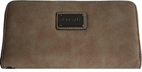 H&G Borsa Designer Ladies grande in pelle scamosciata effetto \ portafoglio \ frizione di Nanucci - Parigi