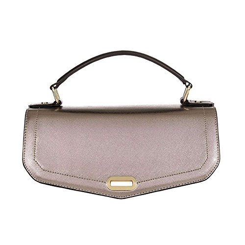 Numeroventidue MEDIUM TUR TOP METAL Borse Accessori Metal Grey