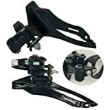 Lighter House Mountain Bike Transmission FD-TZ30/ Mountain Front Speed Dial 6-7-8 Speed Upward Pull Type Front Derailleur