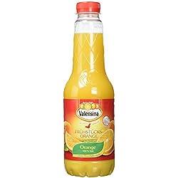 Valensina Orange ohne Fruchtfleisch 100% Saft, 6er Pack (6 x 1 Liter)