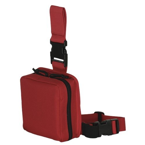 Voodoo Tactical Drop Leg First Aid Pouch, Rescue Red