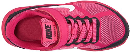 Nike Fusion Run 3 (PSV) Unisex - Kinder Laufschuhe Pink (Hot Pink/White-Black-Fireberry)