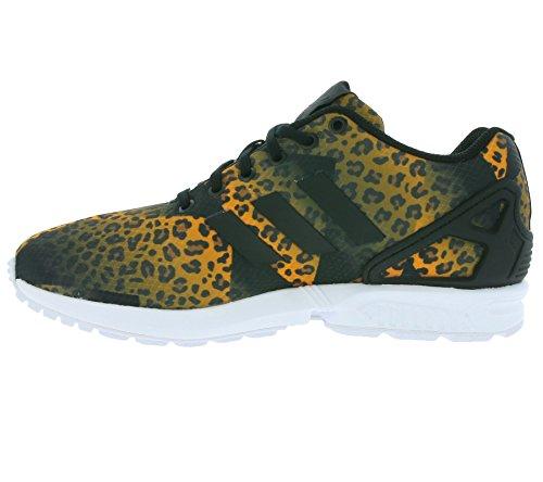 adidas - Zx Flux, Scarpe sportive Unisex – Adulto Nero/Arancione
