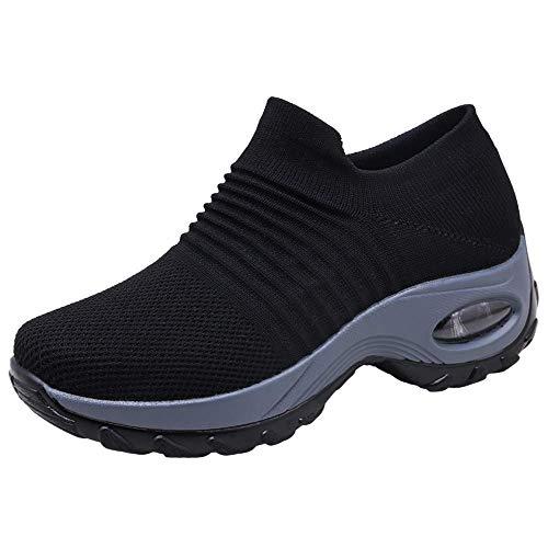 Zapatos Deporte Mujer Zapatillas Deportivas Correr Gimnasio...
