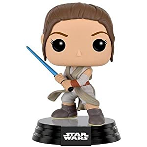 Funko Pop Rey con sable (Star Wars 104) Funko Pop Star Wars