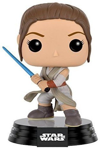 FunKo 9618 POP Bobble: Star Wars: E7 TFA: Rey w/Lightsaber