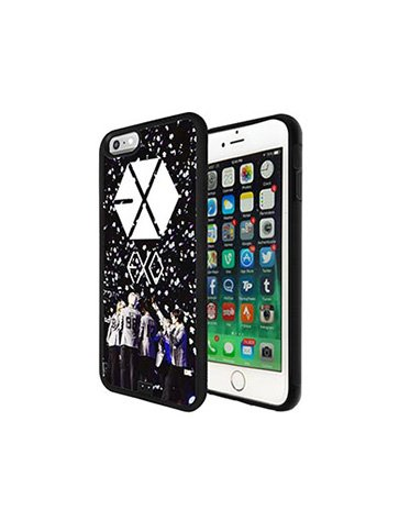 EXO Rock Music Band Logo Iphone 6 Hülle, Iphone 6S Handyhülle EXO Music Band Logo Muster schutz Etui Schutzhülle Case Cover