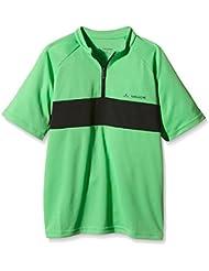 Vaude T-Shirt Kids Grody II - Camiseta de running para niño, color verde, talla 3XL