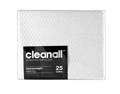 cleanall jcc25W carrello professionale, panno, pesante, bianco (Confezione da 24)