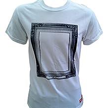 Fenchurch Para hombre I partied con Logo Icon blanco algodón cuello redondo T Shirt Tamaño S