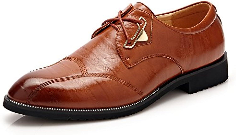 Scarpe da da da Uomo in Pelle Scarpe Classiche da Uomo Scarpe in Pelle Oxford | il prezzo delle concessioni  f4b759