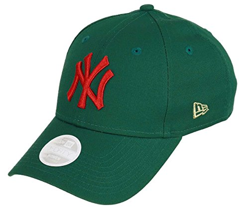 3a28d4a6e8c7a New Era New York Yankees New Era 9forty Adjustable Women Cap League  Essentials Turquoise Orange