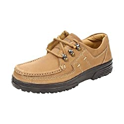 Liberty Windsor Men Casual Shoes Lace-ups Camel UK-10