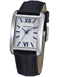 Time Force Reloj Analógico para Hombre de Cuarzo con Correa en Cuero TF4057L03