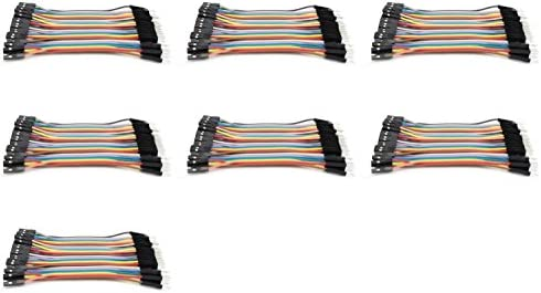 7 x Quantity of Walkera QR X800 FPV 5.8Ghz Dupont 40 Qty 10cm 2.54mm 1pin Female to Male Jumper Wire Cables - FAST FROM Orlando, Florida USA! | Apparence Attrayante